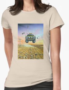 Are We There Yet - Feral Ute Womens Fitted T-Shirt
