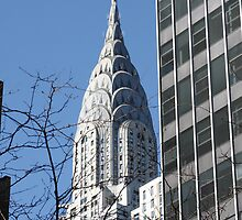 Chrysler Building  by SinaStraub