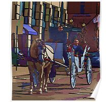 Carriage Ride...  Poster