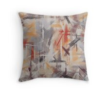 Pastel Colored Abstract Background #3 Throw Pillow