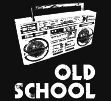 Old School - Boom Box Kids Clothes