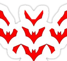 Batman Beyond Mosaic Sticker