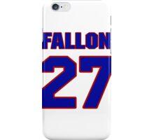 National baseball player Bob Fallon jersey 27 iPhone Case/Skin