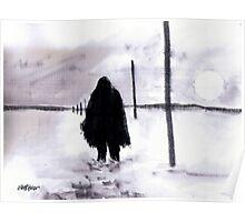 Siberian Stroll Poster