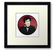 Patrick Troughton - Doctor Who #2 Framed Print