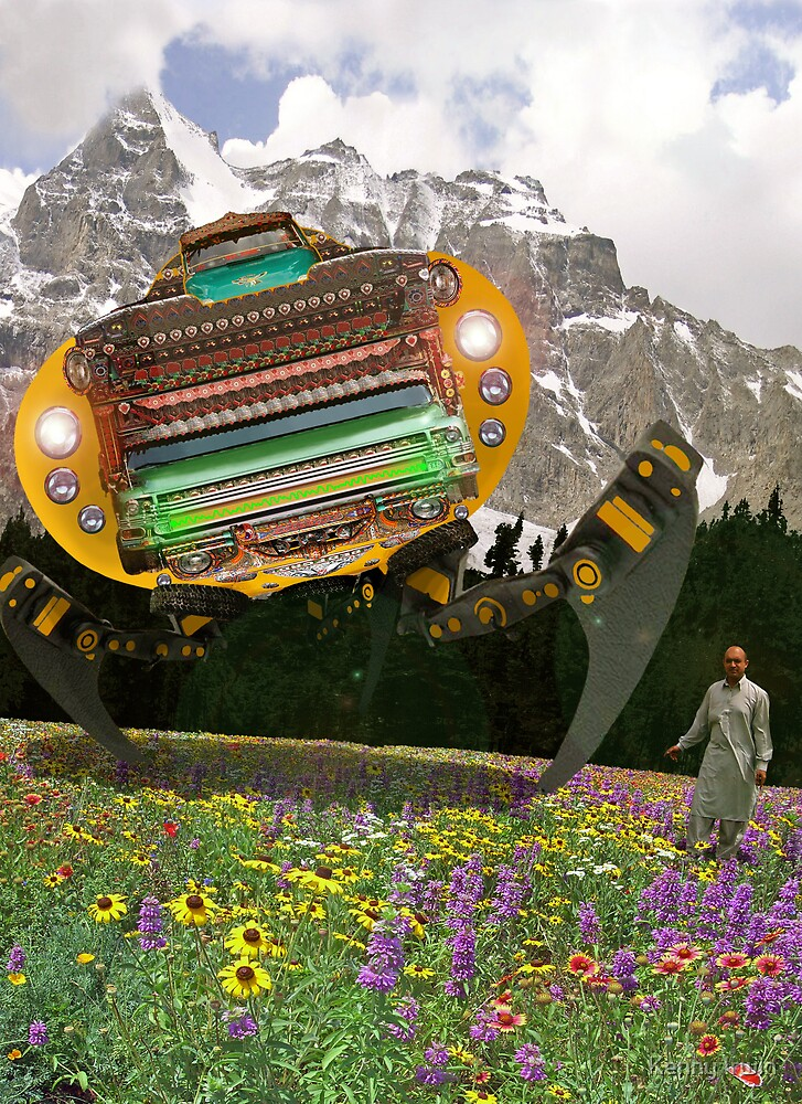 The Chitral چترال Doctor unveils the Bedford Truck Landwalker by Kenny Irwin