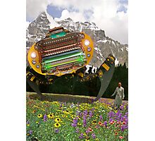 The Chitral چترال Doctor unveils the Bedford Truck Landwalker Photographic Print