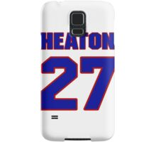 National baseball player Neal Heaton jersey 27 Samsung Galaxy Case/Skin