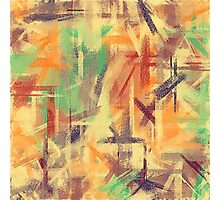 Pastel Colored Abstract Background #4 Photographic Print