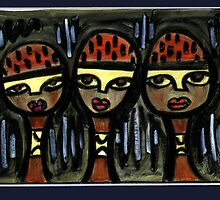 Bandana Girls by Makeba Kedem-DuBose