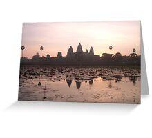Angkor 5 Greeting Card