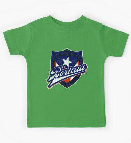 Boricua Badge Kids Tee