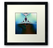 From the Depths Rising Framed Print