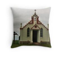 The Italian Chapel, Lamb Holm, Orkney Throw Pillow