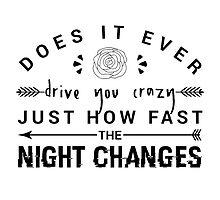 FOUR Night Changes by YOSHFRIDAY