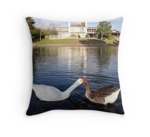 Don't worry about a thing, Cause every little thing gonna be alright. Throw Pillow