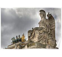 Arc de Triomphe du Carrousel, Paris Poster