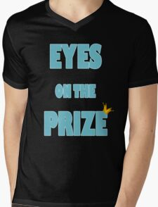 Eyes on the Prize (Blue) Mens V-Neck T-Shirt