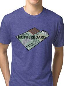 MOTHERBOARD COMPUTER Tri-blend T-Shirt