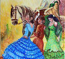 Feria del Caballo by Gerard Mignot