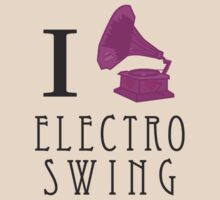 I Love Electro Swing T-Shirt
