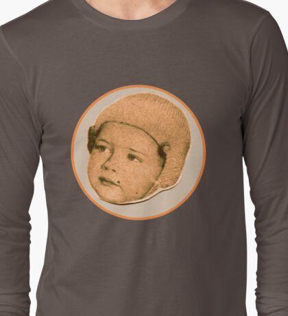 BABY FACE RETRO Long Sleeve T-Shirt
