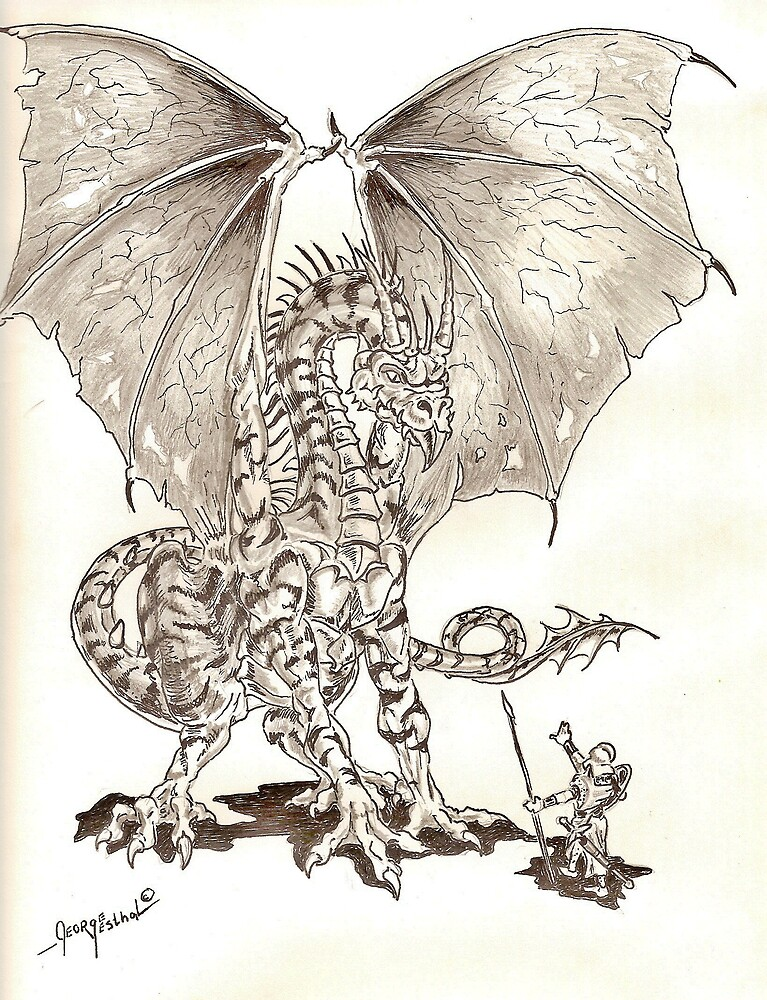 Sir Clive and the Dragon by George Yesthal