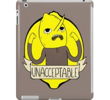 UNACCEPTABLE iPad Case/Skin