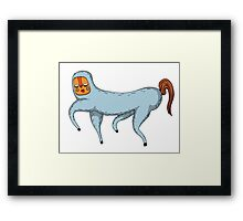 The magic pony trusts you Framed Print