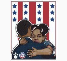DEMOCRATIC CAMPAIGN 2012: OBAMA'S EMBRACE Kids Clothes