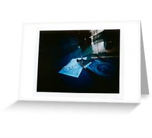 "Pinhole Poalroid - ""Light Meter"" Greeting Card"