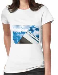 Skyscraper Womens Fitted T-Shirt