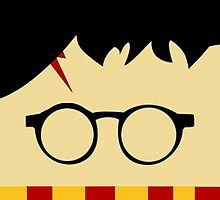 Harry Potter with Gryffindor Scarf!  by SnarkySharkS