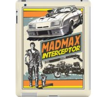 Mad Max V8 Interceptor iPad Case/Skin