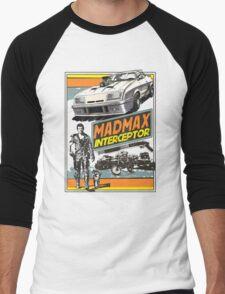 Mad Max V8 Interceptor Men's Baseball ¾ T-Shirt