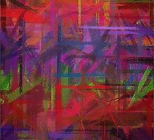 Pastel Colored Abstract Background #7 by Nhan Ngo