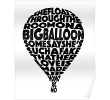 Girl Almighty by One Direction Lyrics - Black Poster