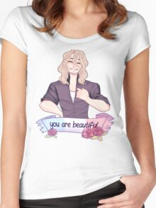 reminder from francis Women's Fitted Scoop T-Shirt