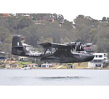 Catalina Water Landing, Lake Macquarie, Australia 2012 Photographic Print