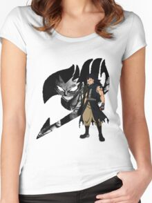 Gajeel Fairy Tail 4 Women's Fitted Scoop T-Shirt