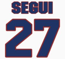 National baseball player Diego Segui jersey 27 by imsport
