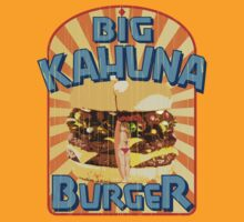 Big Kahuna Burger Fast Food by theycutthepower