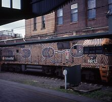 Diesel Engine @ Central Station, Sydney 2000 by muz2142