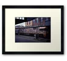 Diesel Engine @ Central Station, Sydney 2000 Framed Print