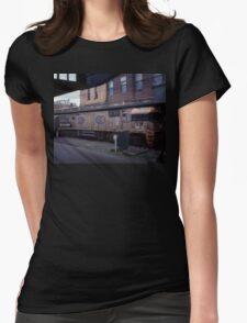 Diesel Engine @ Central Station, Sydney 2000 Womens Fitted T-Shirt