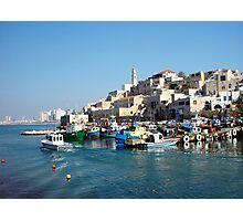Jaffa fishing port Photographic Print