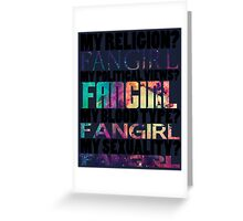 We are all Fangirls and Equal Greeting Card