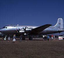 Douglas DC-4 @ Brisbane Airshow 2003 by muz2142