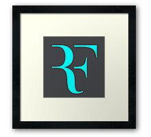 RF logo Framed Print