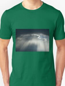 cloudy sky on the hilly Unisex T-Shirt
